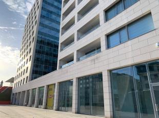 Uniek appartement op de 6de verdieping te huur aan de Delacenseriestraat 14 te 2018 Antwerpen. Residentie I Love QUI VIT is een elegant hedendaags nie