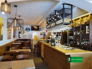 Instapklare en volledig vernieuwde taverne met mooi terras en woonst.<br /> Taverne De Boulevard is al sinds jaren een gekende taverne / brasserie in