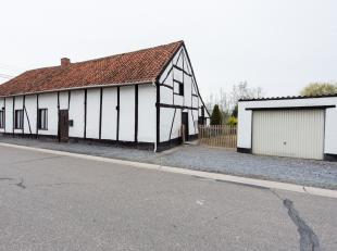 Geklasseerde charmante fermette gelegen te Hoeselt, Paneelstraat 9.<br /> <br /> Landelijke en rustige ligging op 5 km van het centrum van Hoeselt. Au