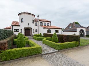 Uiterst charmante Provencaalse villa gelegen op een schitterend ZW-georiënteerd perceel van maar liefst 17are 50ca! met een uniek groen uitzicht