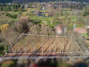 Bouwgrond van 3016 m2palend aan het golfterrein van Keerbergen. De bouwgrond heeft een vrij uitzicht op de 9e hole van het golfterrein en is tevens ge