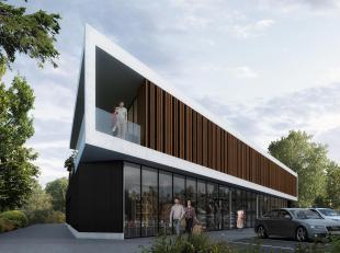 Commercieel gunstig gelegen kantoor / praktijkruimte.<br /> Polyvalente ruimte van 156m² bruto oppervlakte met tal van mogelijkheden in een archi