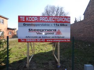 Gelegen op de Zaveldriesstraat, vinden we deze projectgrond terug.<br /> <br /> Wij geven u een idee wat u als koper kan bouwen op deze bouwgrond.<br