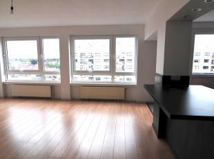 In residentie Esplanade vindt u op het achtste verdiep, dit twee slaapkamer appartement. Residentie Esplanade ligt pal in het centrum van Genk.<br />