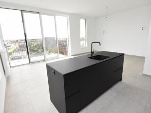 Zeer mooi afgewerkt nieuwbouwappartement met 2 slaapkamers en mooi terras aan de achterzijde. Gelegen op de 6e en bovenste verdieping in een gebouw me