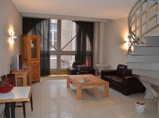 Zeer mooi hotelappartement gelegen in een gezellige steeg in het centrum van Hasselt.  <br /> <br /> 100 euro per maand voor privé-verbruik gas