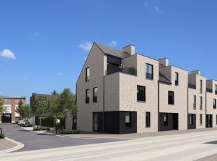 Dit nieuwbouwappartement is gelegen op het gelijkvloers van een blokje van 9 appartementen. De gemeenschappelijke inkomhal beschikt over een lift en g