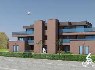 DIT MOOIE NIEUWBOUWPROJECT KOMT BINNENKORT TE KOOP.<br /> <br /> Dit project huisvest 9 appartementen op een perceel van 18 are. Ondergronds is er een