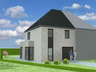 Nieuw te bouwen halfopen bebouwing te Sint-Lievens-HoutemVoorbeeldwoning: indeling vrij te kiezen.Onze woningen worden afgewerkt met standaard duurzam