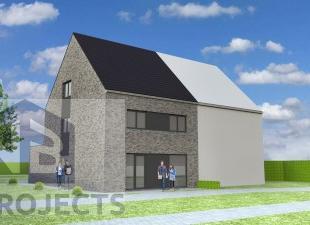 Nieuw te bouwen half open bebouwing te AffligemVoorbeeldwoning: indeling vrij te kiezen.Onze woningen worden afgewerkt met standaard duurzame kwalitat