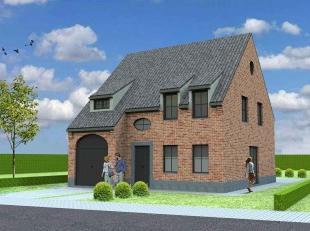 Nieuw te bouwen open bebouwing te AvelgemVoorbeeldwoning: indeling vrij te kiezen.Onze woningen worden afgewerkt met standaard duurzame kwalitatieve m