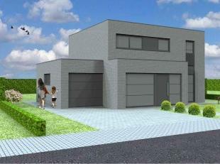 Nieuw te bouwen open bebouwing te Sint-Lievens-HoutemVoorbeeldwoning: indeling vrij te kiezen.Onze woningen worden afgewerkt met standaard duurzame kw
