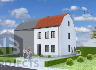 Nieuw te bouwen halfopen bebouwing te DilbeekVoorbeeldwoning: indeling vrij te kiezen.Onze woningen worden afgewerkt met standaard duurzame kwalitatie