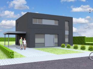 Nieuw te bouwen open bebouwing te DeerlijkVoorbeeldwoning: indeling vrij te kiezen.Onze woningen worden afgewerkt met standaard duurzame kwalitatieve