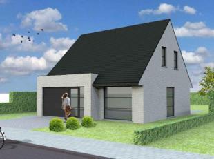 Nieuw te bouwen open bebouwing teSint-IdesbaldVoorbeeldwoning: indeling vrij te kiezen.Onze woningen worden afgewerkt met standaard duurzame kwalitati