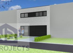 Nieuw te bouwen gesloten bebouwing te KuurneVoorbeeldwoning: indeling vrij te kiezen.Onze woningen worden afgewerkt met standaard duurzame kwalitatiev