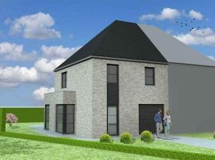 Nieuw te bouwen halfopen bebouwing te GeraardsbergenVoorbeeldwoning: indeling vrij te kiezen.Onze woningen worden afgewerkt met standaard duurzame kwa