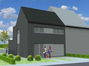 Nieuw te bouwen halfopen bebouwing te Velzeke-RuddersvoordeVoorbeeldwoning: indeling vrij te kiezen.Onze woningen worden afgewerkt met standaard duurz