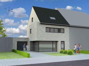 Nieuw te bouwen halfopen bebouwing te WaarbekeVoorbeeldwoning: indeling vrij te kiezen.Onze woningen worden afgewerkt met standaard duurzame kwalitati