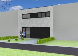 Nieuw te bouwen gesloten bebouwing te MenenVoorbeeldwoning: indeling vrij te kiezen.Onze woningen worden afgewerkt met standaard duurzame kwalitatieve