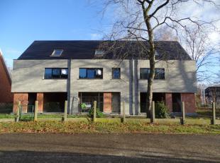 Nog 1 van 3 nieuwbouwwoningen beschikbaar vanaf juli 2019 voor verhuur. Het betreft een stijlvol afgewerkte woning met kwaliteitsvol afwerkingsmateria