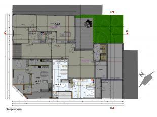 Mooi nieuwbouwappartement gelegen op het gelijkvloers met een bewoonbare oppervlakte van 74 m2 . <br /> <br /> Het appartement kan u betreden via de i