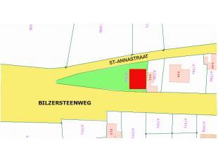 Mooi HO-bouwperceel te koop op de bilzersteenweg van 929 m²! Goede verbinding tussen Tongeren en Hoeselt-Bilzen!