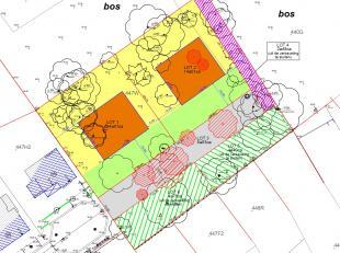 Residentieel gelegen perceel bouwgrond voor open bebouwing - LOT 1 = 14a01ca.<br /> <br /> Bouwvoorschriften: <br /> 35,27m breed - 39,80m diep<br />