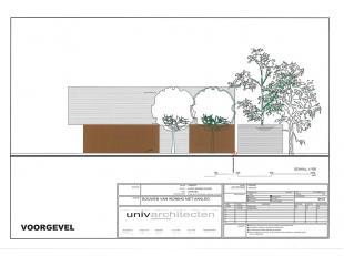 Residentieel gelegen nieuwbouw villa op 2580 m².<br /> Indeling :<br /> Gelijkvloers : inkomhal met toilet - grote leefruimte (zitruimte - eetrui