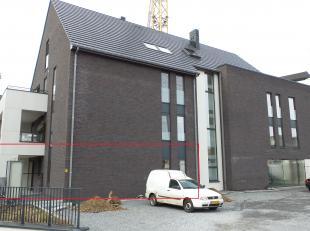 "Residentie ""Dorperveld"" gelijkvloers appartement A.0.2. met 2 slaapkamers.<br /> <br /> Indeling: inkomhal - berging/wasplaats - wc -  slaapkamer 1 -"