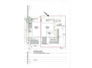 Bouwperceel in centrum - 261 m²  (HOB rechts) - vergund bouwplan ter beschikking.  <br /> <br /> Bouwbreedte : 8,7 m - bouwdiepte : 9,7 m <br />