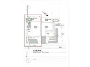 Bouwperceel in centrum - 194 m²  (HOB links) - vergund bouwplan ter beschikking.  <br /> <br /> Bouwbreedte : 6,3 m - bouwdiepte : 10,4 m <br />
