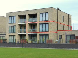 Modern energiezuinig appartement met 2 slaapkamers, autostaanplaats en privatieve kelder in Kuringen (Hasselt).Dit appartement heeft een bewoonb. oppe