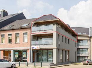 Ruim en lichtrijk appartement met 2 slaapkamers en terras in het centrum van Halen.Dit appartement heeft een bewoonbare oppervlakte van 125 m² en
