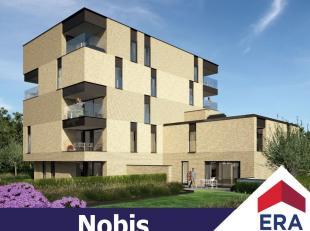 Nieuwbouw-appartement met 2 slaapkamers, terras en autostaanplaats in de stadsrand van Hasselt.Dit appartement heeft een bewoonbare oppervlakte van 83
