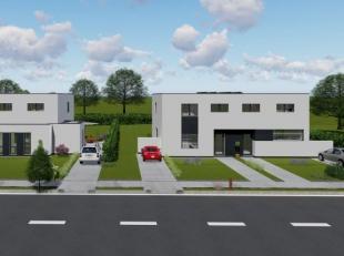 Moderne halfopen nieuwbouwwoning (casco, casco + of afgewerkt) met drie slaapkamers, op een goede locatie te Geetbets.Deze leuke gezinswoning is geleg