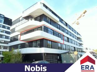 """Ruim nieuwbouw-appartement met 2 slaapkamers, terras en autostaanplaats in residentie """"Zuidzicht"""" aan de Blauwe Boulevard in Hasselt.Dit appartement h"""