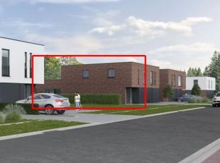 Ruime en energiezuinige nieuwbouwwoning met 3 slaapkamers, centraal gelegen te Lummen (casco of afgewerkte aankoop mogelijk!). De woning is gelegen op