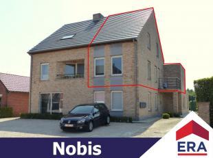 Energiezuinig duplex-appartement met 2 slaapkamers, terras en 2 autostaanplaatsen in Lummen (Genenbos).Dit appartement heeft een bewoonb. oppervlakte