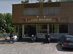 Café met woonst te Kolderbos.<br /> <br /> Voor meer informatie kan u ons bereiken op het nummer 089/85.85.85