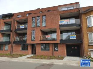 Nieuwbouwappartement met lift en 2 slaapkamers, ruim terras en ondergrondse parking net buiten de grote ring van Hasselt en met de vlotte verbinding m
