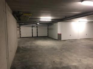 Gloednieuwe garageboxen in ondergrondse parkeerkelder van residentie Stadspark, gelegen op de Grote Baan te Hasselt. Zeer gunstig gelegen, vlakbij bel