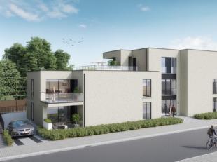 Residentie 't Perenhof <br /> <br /> Gelijkvloers appartement (104 m2) met mooie open leefruimte en ruim terras (14 m2) met groen. <br /> <br /> D