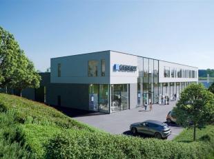 Kmo unit op uitstekende locatie langs de A12 in Meise naast de bekende meubelwinkel Cockaert Design.<br /> Deze KMO unit wordt opgebouwd in staaldraag