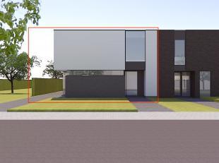 Volledig bouwklaar perceel bouwgrond voor een halfopen bebouwing met een straatbreedte van 12 meter op een perceel van 5a 75ca. <br /> <br /> De nodig