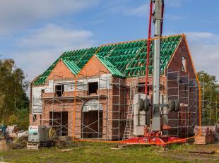 Voor uitgebreide info, surf naarwww.SWEVERS.be! - Vlakbij het centrum van Leopoldsburg, in een rustige omgeving, wordt een nieuwe woning gebouwd. Het