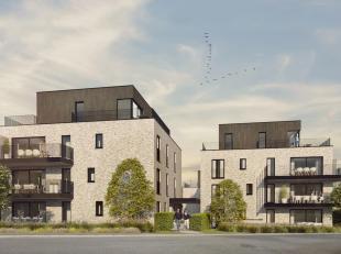 Dit prachtig luxeappartement van 102,50 m² bevindt zich op de eerste verdieping, in blok A. Het schitterende terras van maar liefst 14,20 m²