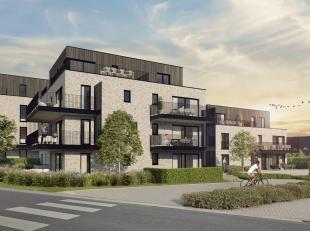 Dit prachtig luxeappartement van 102,50 m² bevindt zich op de tweede verdieping, in blok B. Het schitterende terras van maar liefst 21,25 m²
