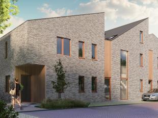 Dit gelijkvloersappartement bevindt zich aan de binnenkant van het project. Het gaat om het rechter appartement in A3. Dit appartement heeft een bewoo
