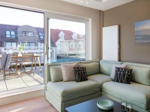 Een riant terras van 20m² op de vijfde verdieping? Dat is heerlijk genieten in 'Lampernisse'. Samen met vrienden of familie en een glaasje wijn i